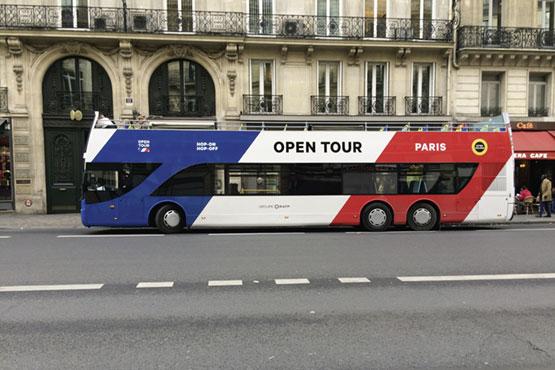 Hop-on Hop-off city tour