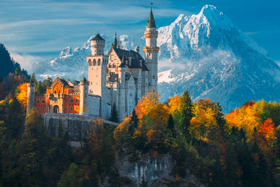 Day trip to the castles of Neuschwanstein and Linderhof