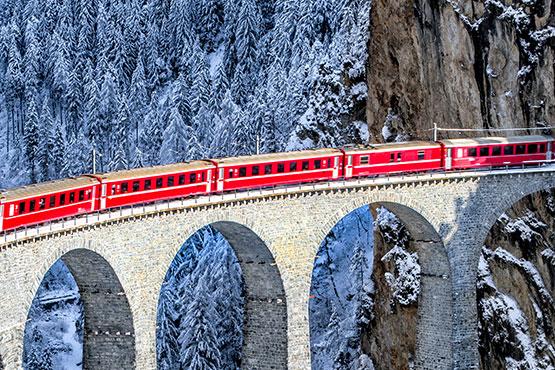 Zermatt - St. Moritz