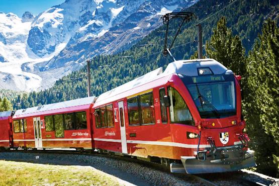 Grand Train Tour of Switzerland | railtour Nr 1 rail