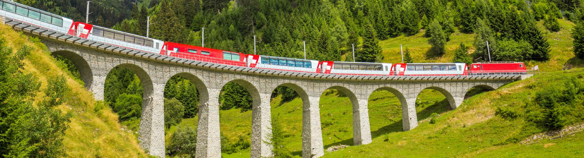 Glacier Express (Brig - St. Moritz, CH)