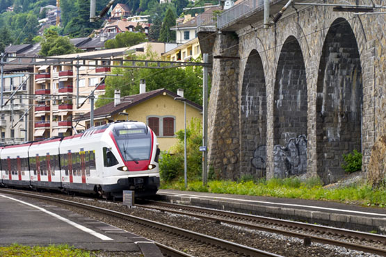 Travel by train, bus and boat and most mountain railways at half price