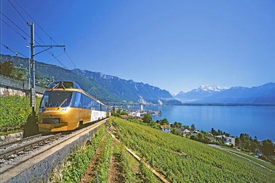 Lucerne – Interlaken – Golden Pass Line – Montreux