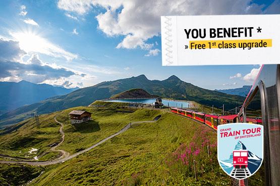Interlaken - Jungfraujoch - GoldenPass Line - Montreux - Zermatt - Glacier Express - St. Moritz - Bernina Express - Lugano - Lucerne