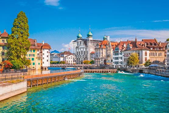 Hotels in Zurich, Lucerne, Zermatt, Interlaken & Swiss Travel Pass