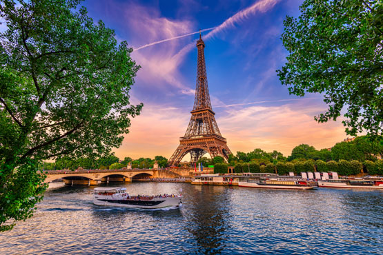 Discover Paris on your own.