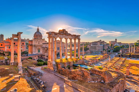 Discover Rome on your own.